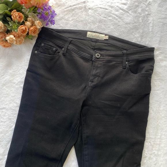 Torrid Black Bootcut Midrise Jeans